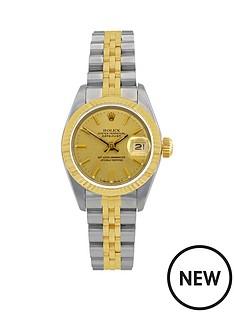 rolex-bimetal-datejust-champagne-dial-ladies-watch-pre-ownednbspincluding-paperwork