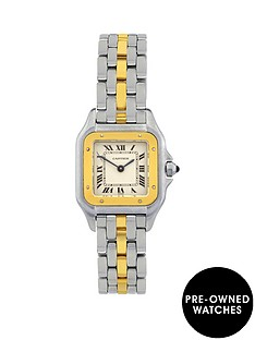 cartier-steel-amp-gold-panthere-1-row-ladies-watchnbsppre-owned