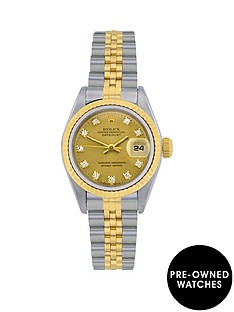 rolex-bimetal-datejust-original-champagne-diamond-dial-ladies-watch-pre-owned