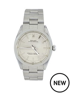 rolex-steel-oyster-perpetual-silver-baton-dial-mensnbspwatch-pre-owned