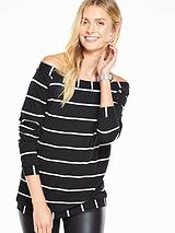 Bardot Sweater Top