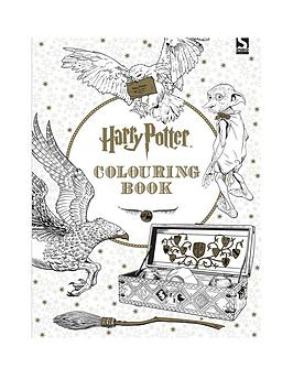 Very Harry Potter Colouring Book Picture