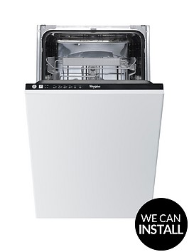 whirlpool-adg211-built-in-10-place-slimline-dishwasher-withnbspoptional-installation-stainless-steel
