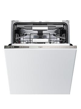 Whirlpool   Wio3T123Pef Built-In 14-Place Dishwasher With Quick Wash, 6Th Sense, Power Clean Pro - White - Dishwasher Only