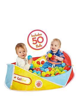 getgo-getgo-2-in-1-ball-pit-amp-bag-with-50-balls