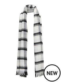 v-by-very-reversible-check-amp-herringbone-blanket-scarf