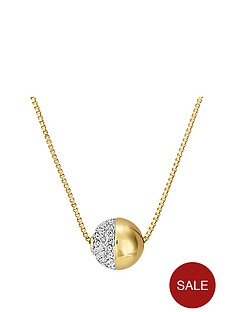 buckley-london-gold-tone-greenwich-crystal-pendant