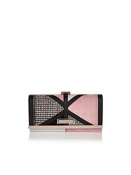 river-island-boucle-panel-cliptop-purse