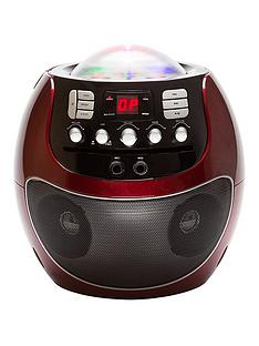portable-cd-karaoke-system-with-led-lights-red