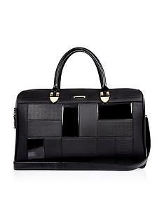 river-island-panelled-weekend-bag