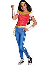 DC Superheroes Deluxe Wonder Woman - Childs Costume