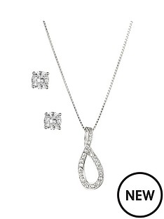 anne-klein-silver-tone-infinity-crystal-necklace-and-earring-set