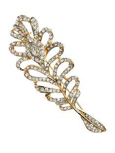 anne-klein-gold-tone-crystal-feather-brooch