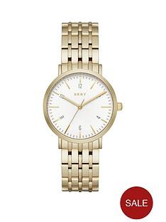 dkny-dkny-minetta-white-dial-36mm-case-stainless-steel-gold-tone-bracelet-ladies-watch