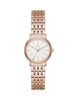 dkny-dkny-minetta-white-dial-28mm-casestainless-steel-rose-tone-bracelet-ladies-watch