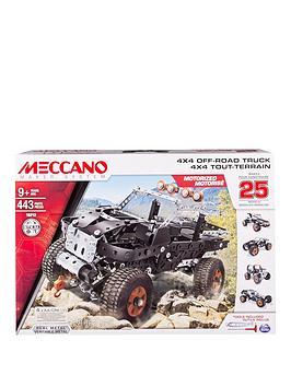 meccano-25-model-set-4x4-truck