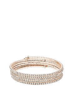 anne-klein-rose-gold-tone-diamante-coil-bracelet