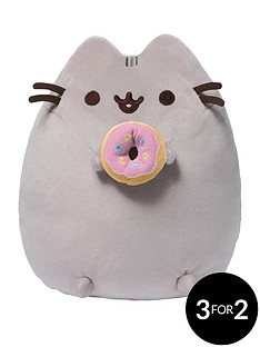 pusheen-with-donut