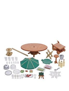 sylvanian-families-garden-party-set