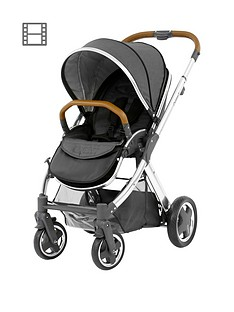 babystyle-oyster2-pushchair-mirror-finish-tan-handle