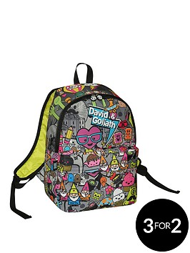 david-goliath-all-over-character-print-backpack