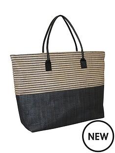 kangol-black-stripe-shopper