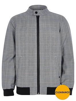 river-island-boys-grey-check-bomber-jacket