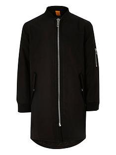 river-island-boys-black-longline-bomber-jacket