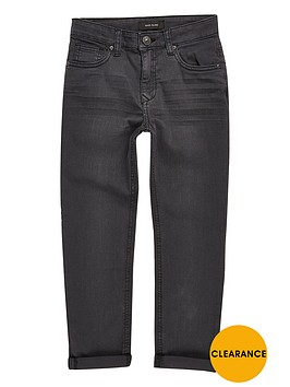 river-island-boys-dark-grey-dylan-slim-jeans