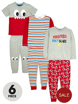mini-v-by-very-boys-cheeky-monster-pyjamas-6-piece