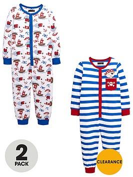 mini-v-by-very-boys-pirate-sleepsuits-2-pack