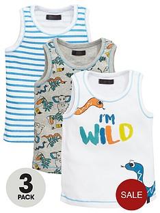 mini-v-by-very-boys-im-wild-vests-3-pack