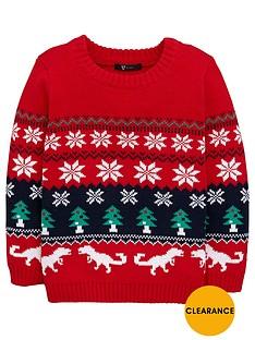 mini-v-by-very-boys-fairislenbspdinosaur-knit