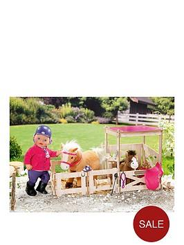 baby-born-pony-farm-horse-stable