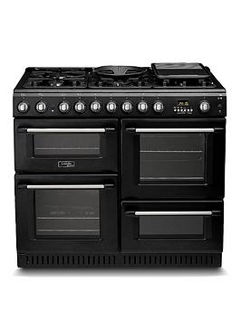 Cannon Ch10456Gfs 100Cm Dual Fuel Range Cooker With Gas Hob  Black