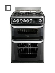 cannon-ch60dhkfs-60cm-dual-fuel-electric-double-oven-cooker-with-gas-hob-black