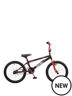 rooster-radical-kids-20-inch-bmxnbspbike-blackred