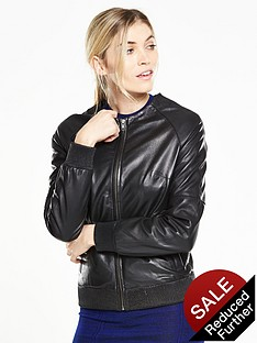 v-by-very-premium-leather-bomber-jacketnbsp