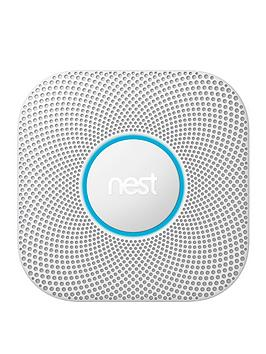 Google Nest   Protect 2Nd Generation Smoke Alarm - Battery Operated