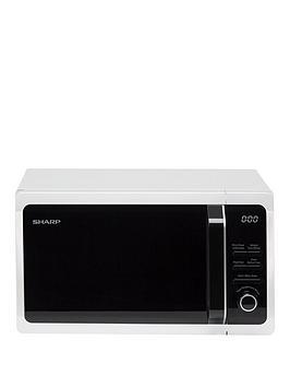 sharp-r664wm-tc-grill-microwave-white