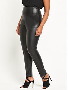 so-fabulous-body-sculpt-perfect-fit-pu-legging-black