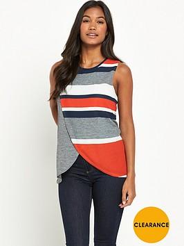 river-island-sleeveless-stripe-wrap-front-tank