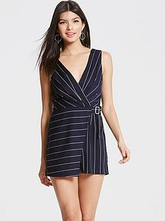 girls-on-film-girls-on-film-navy-stripe-crossed-over-playsuit