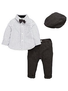 ladybird-baby-boys-4pc-cap-bowtie-shirt-and-trouser-set