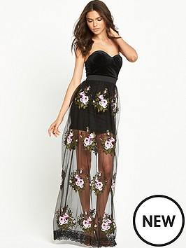 rare-limited-edition-maxi-dress-black