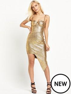 rare-metallic-asymetric-dress
