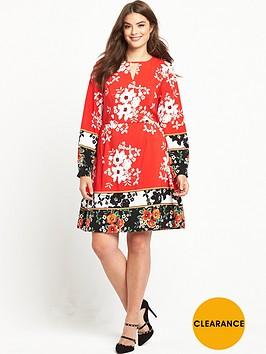 v-by-very-curve-crepe-tea-dress