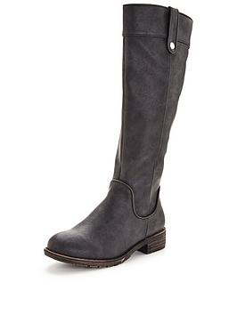 v-by-very-delilah-riding-boot-with-piping-detail-black