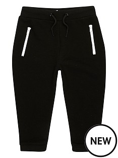river-island-mini-mini-boys-black-zip-joggers