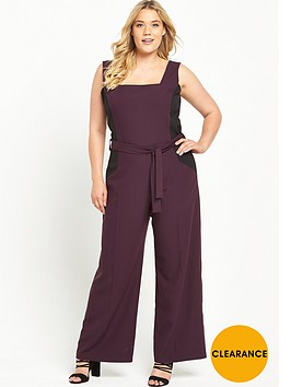 v-by-very-curve-colour-block-jumpsuit